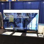 Nor Cal Clean Technology Summit Booth setup 2018-10-17