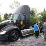 UPS liquid natural gas truck at Green Drives Conference and Expo 2019-5-16 - Chicago Area Clean Cities photo